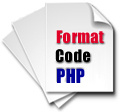 PHP Code Formatter
